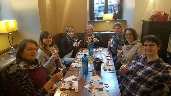 4er Weinprobe und die Schokoladenseite von Mainz 15.03.19