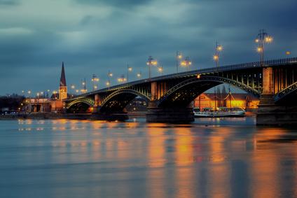 Mainz Theodor Heuss Bridge